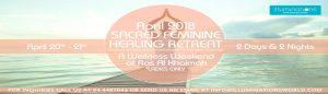 Sacred Feminine Healing Retreat Banner