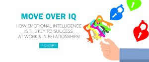 Move Over IQ – How Emotional Intelligence is the key to success at Work & in Relationships!