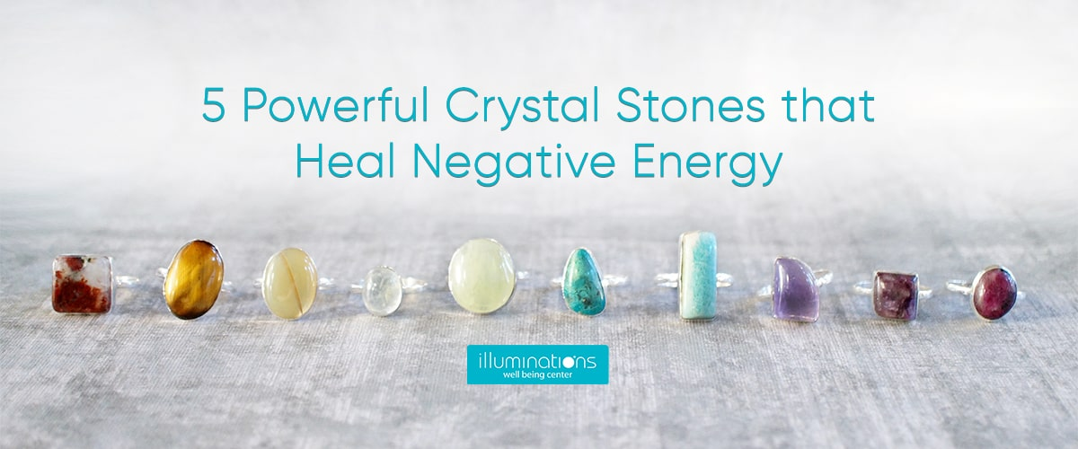5 Powerful Crystal Stones that Heal Negative Energy